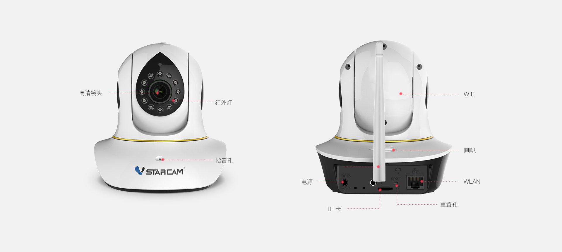 1080p高清网络摄像机