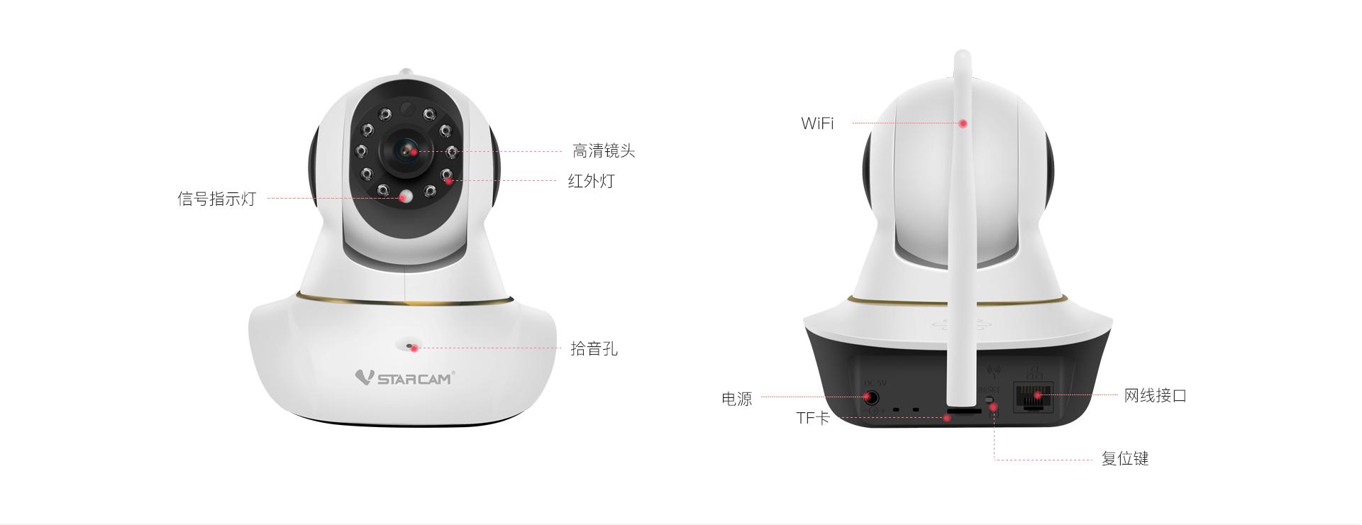 智能网络摄像机