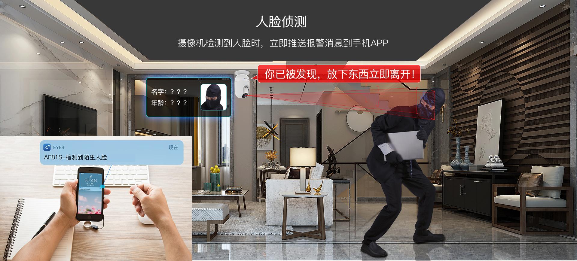 智能人脸识别网络摄像机
