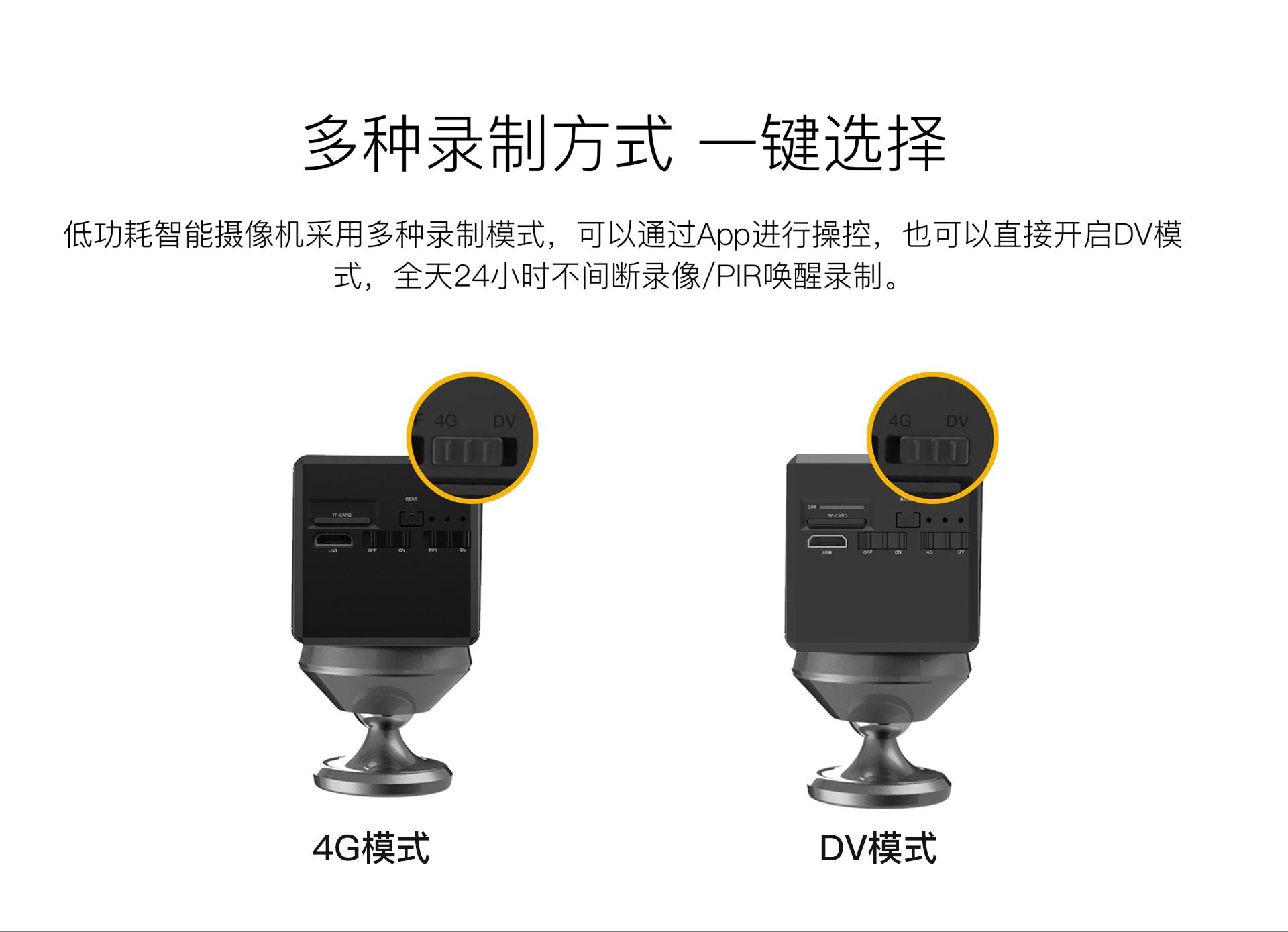 智能电池摄像机