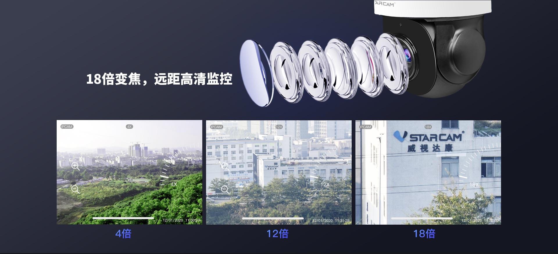 智能室外网络球机